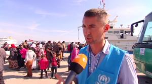 ZDF - UNHCR Refugees, Greece